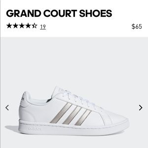 Gently used Adidas Cloud Grand Court Sneakers sz 9